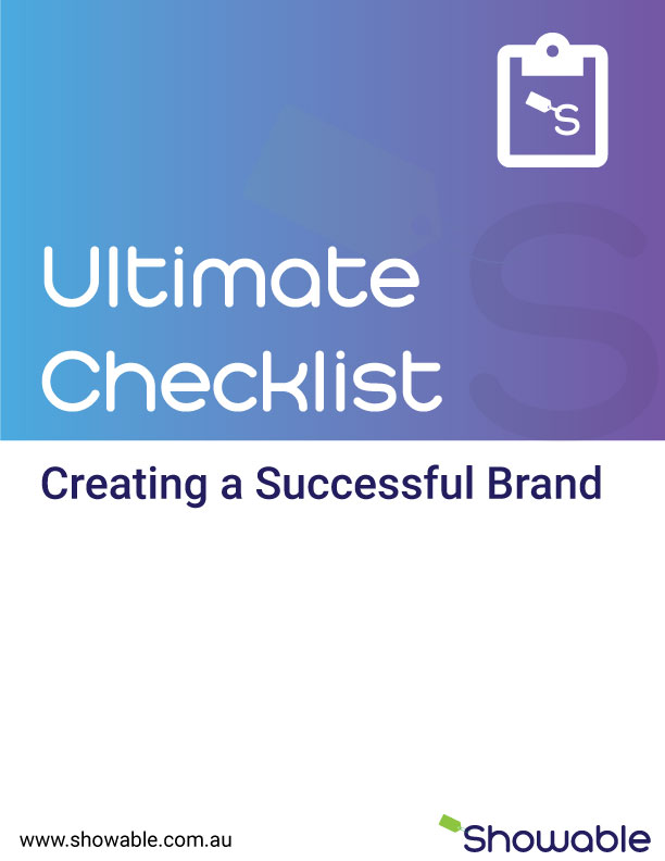 Showable How to Create a Successful Brand Checklist